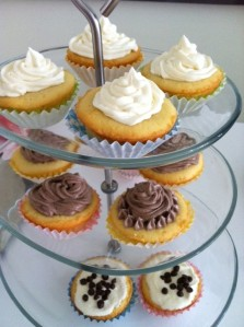 Topped with Vanilla Buttercream