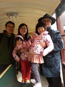 Puffing Billy with the nice conductor