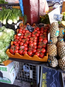 Big and juicy tomatoes
