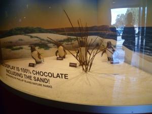Panny's Penguin display