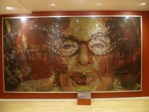 Chocolate Mosaic of Edna